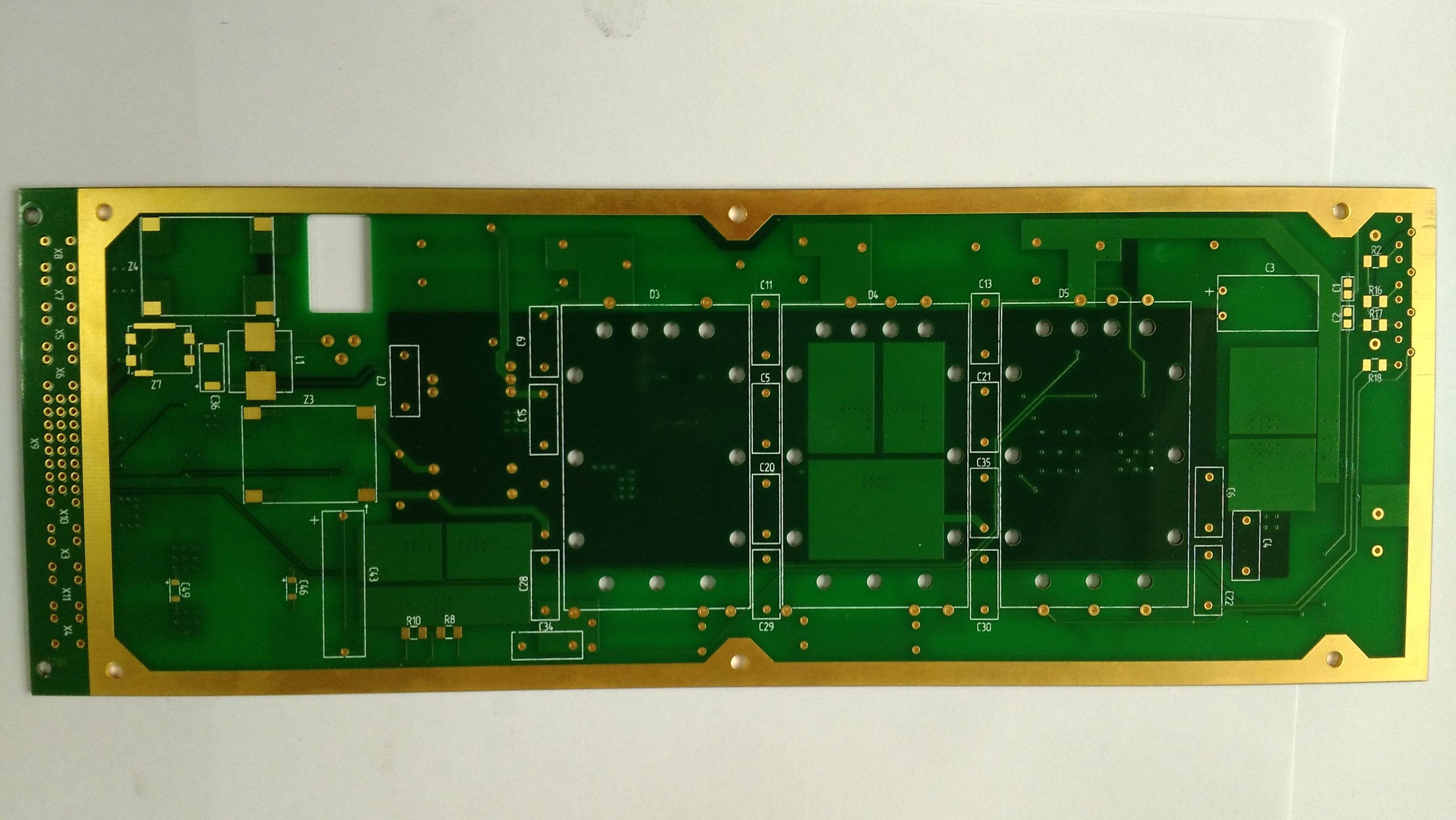fr-4 线路板 高tg四层金属包边板